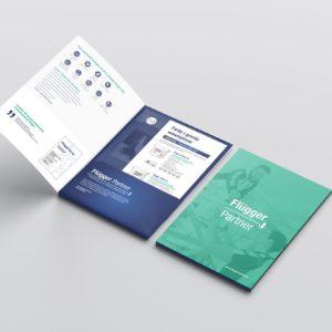 folder teczka koncepcja materiały drukowane portfolio